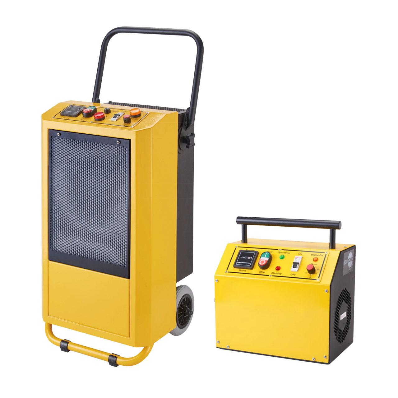 黄色い脱臭機